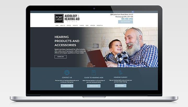 PCAudiology.ca Homepage